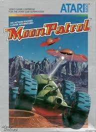 Patrol Atari 2600 Game - Moon Patrol - Atari 5200