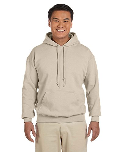 Gildan 18500 - Classic Fit Adult Hooded Sweatshirt Heavy Blend - First Quality - Sand - X-Large
