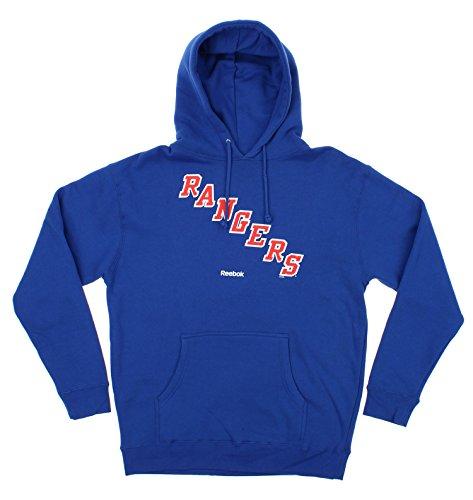 Reebok NHL Men's Jersey Crest Pullover Hoodie, New York Rangers