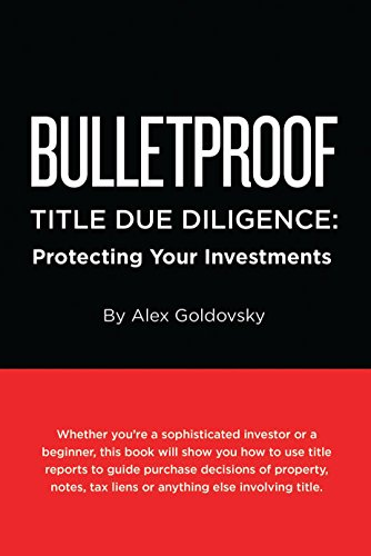 Bulletproof Title Due Diligence: Protecting Your Investments, used for sale  Delivered anywhere in USA
