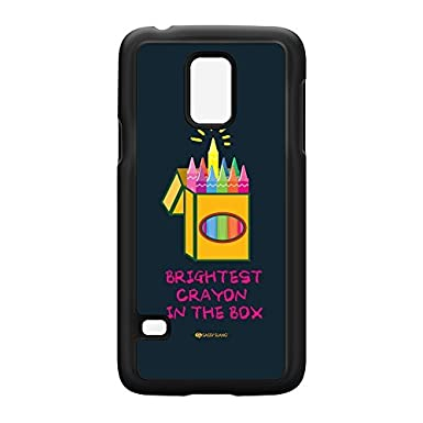 brightest crayon in the box 10481 black hard plastic case snap on