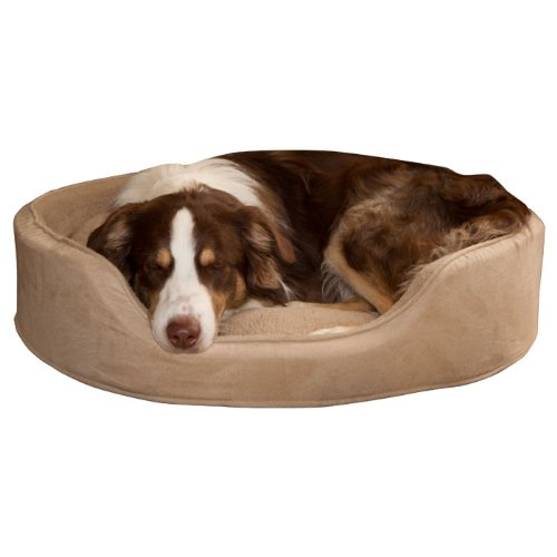 PAW Cuddle Round Suede Terry Pet Bed - Clay - XLarge PAW Cuddle Round Suede Terry Pet Bed - Clay -