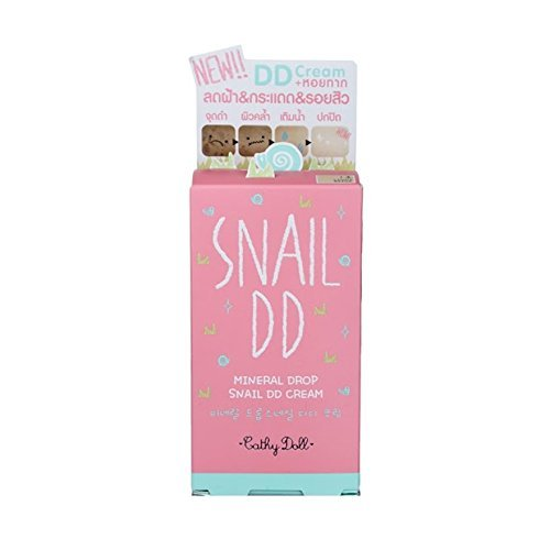 Cathy Doll Snail DD Cream 30g#Light 1 pcs. (Hydro Mineral Natural Finish Makeup)