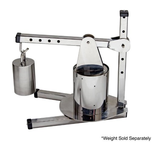 TSM Stainless Steel Deluxe Dutch Cheese Press