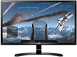 LG 24UD58-B - Monitor Serie 4K de 61 cm (24 pulgadas, 4K Ultra HD, IPS, 3840x2160 pixeles, 5 ms, 16:9, 250 cd/m2, FreeSync,) Color Negro