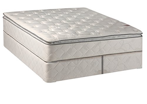 Continental Matress,Medium Firm Orthopedic 10'' Fully Assembled Pillow Top Mattresss and 5-inch Split Box Spring,  Full by Continental Mattress