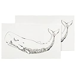 Tattly Temporary Tattoos, Whale, 0.1 Ounce