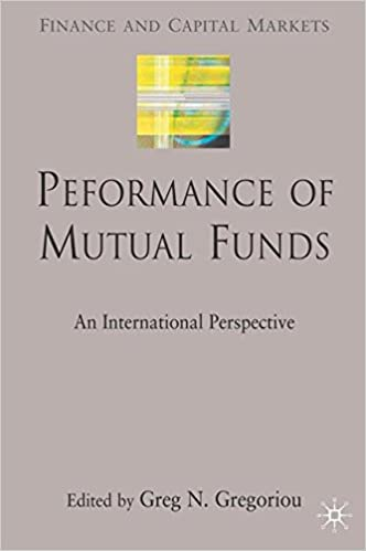 Performance of Mutual Funds: An International Perspective (Finance and Capital Markets Series)