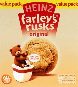 Farleys Rusks 18s (300gs) by Farley's