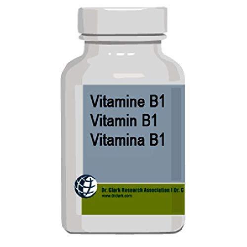 Vitamin B1 (Thiamine) Capsules, 500 Mg, 100 Count