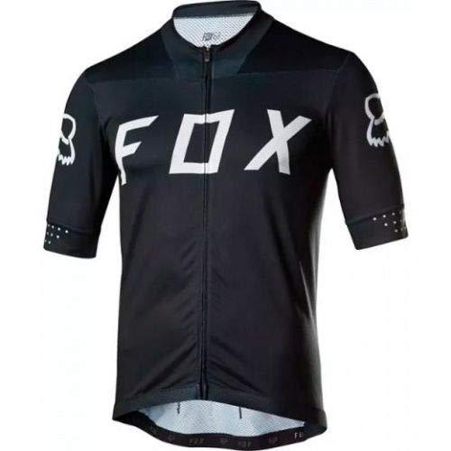 Camisa Ciclismo Fox Ascent ss Preto (P)