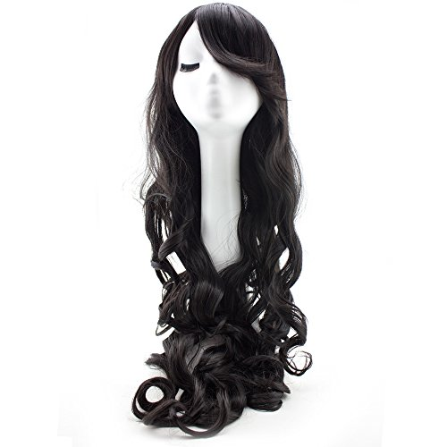 Inches Black Cosplay Synthetic Women product image