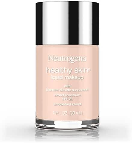 Neutrogena Healthy Skin Liquid Makeup Broad Spectrum SPF 20, 20 Natural Ivory, 1 Oz
