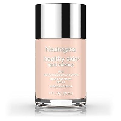 Neutrogena Healthy Skin Liquid Makeup Foundation, Broad Spectrum Spf 20, 20 Natural Ivory, 1 Oz.