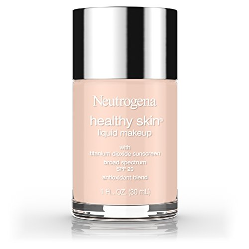 Neutrogena Healthy Skin Liquid Makeup Foundation, Broad Spectrum Spf 20, 20 Natural Ivory, 1 Oz.