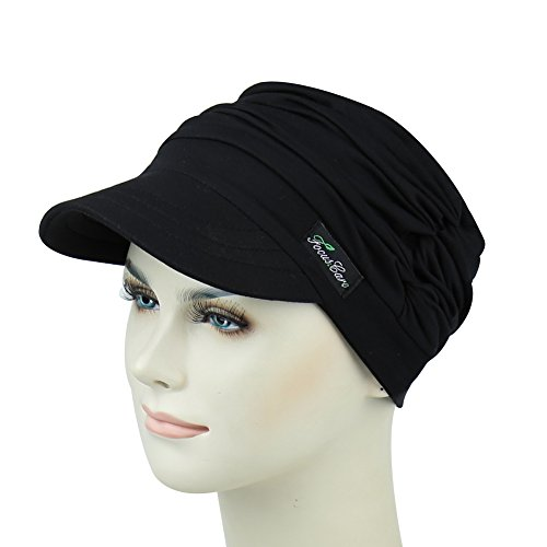 Elastic Bamboo Baseball Cap For Chemo Women Gifts For Chemotherapy Patients by FocusCare