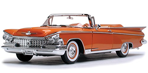 1959 Buick Electra 225 Convertible, Copper - Road Signature 92598 - 1/18 Scale Diecast Model Toy (Buick Convertible Cars)