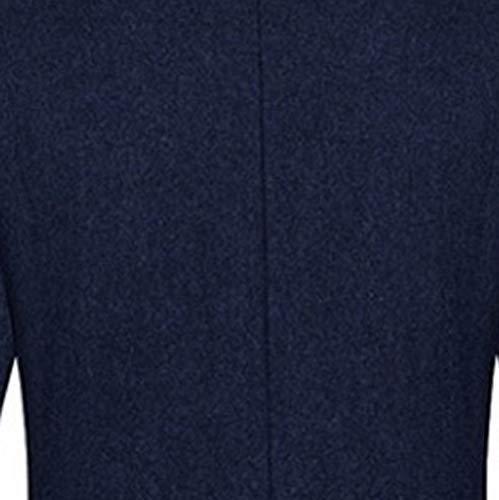 2 Homme Blouson Long Mince Manteau Classique Trench Aimee7 Bouton Coat Marine Tops Veste Jacket ZOn5w6dq