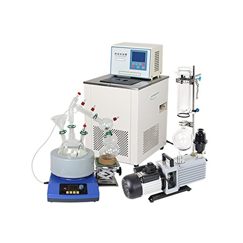 2L Short Path Distillation Standard Set w/ Vacuum Pump & Chiller by LAB1ST