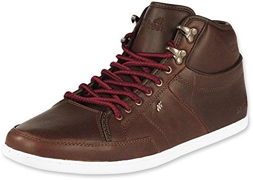 BOXFRESH SWAPP PREM - Zapatillas de tela hombre dark brown/lyptus