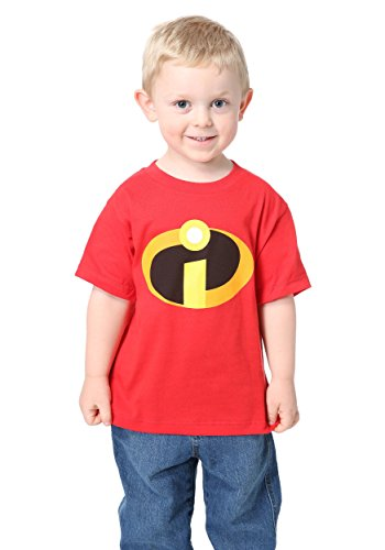 The Incredibles Baby Halloween Costumes (Incredibles Toddler Costume Tee 3T)