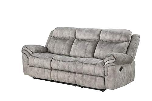 ACME Furniture Zubaida Sofa with USB Dock & Console, Multicolor