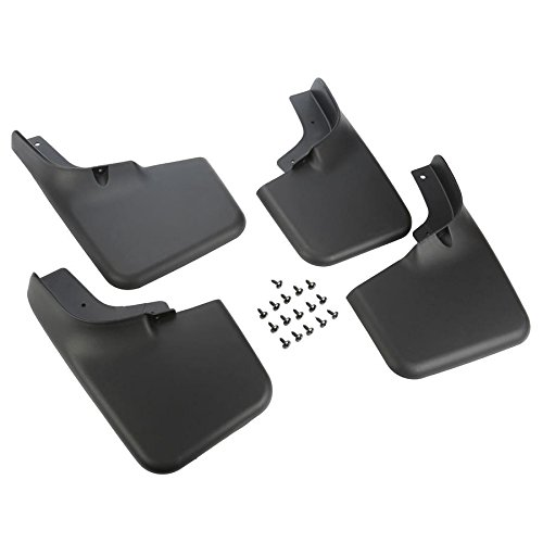 Vesul 4pcs Mud Flaps Mudguard Fenders Splash Guards Fits On Dodge Ram Without Fender Flares 2009 2010 2011 2012 2013 2014 2015 2016 2017 2018