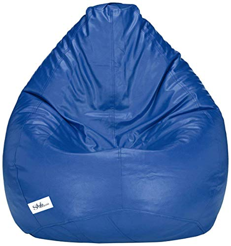 StyleOceans Bean Bag Cover Without Beans  XXXL, Navy Blue