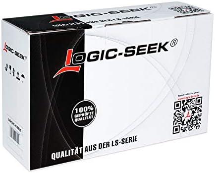 Logic-Seek 2X Endlos-Etikett kompatibel für Brother DK22214 12mm x 30,48m P-Touch QL-1050 1060N 500 550 560 570 580 700 500 A BS BW 560 VP YX 580N 650TD 710W 720NW