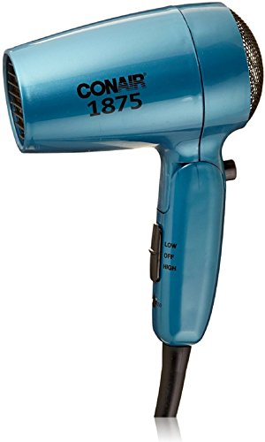 Conair Vagabond Folding Handle 1875 Watt Compact Hair Dryer 1 ea Pack of 3