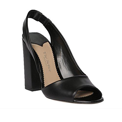 Sandales The Seller Noir Femme pour HxBF4q