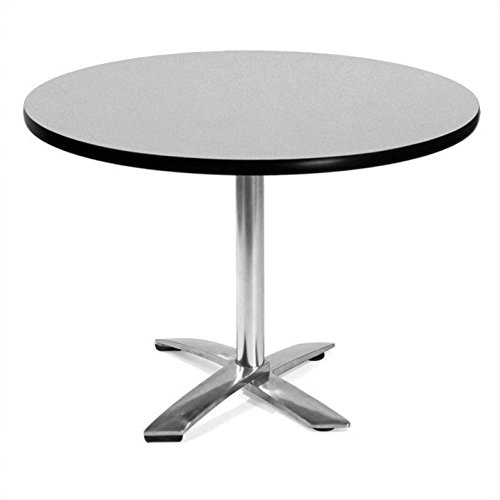 OFM KFT42RD-GRYNB Round Folding Multi-Purpose Table, 42