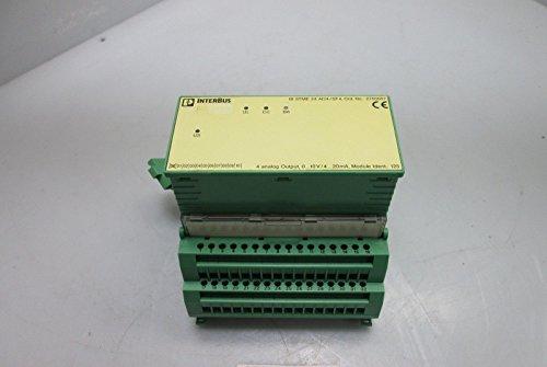 Phoenix Contact IB-STME-24-A04/SF4 Analog Output w/IB-STTB-24-AO-4/SF - Terminal Sf