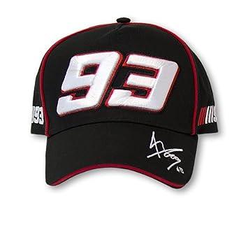 Marc Márquez MotoGP gorra de béisbol oficial negro 93 Moto GP - mmmca59804: Amazon.es: Coche y moto