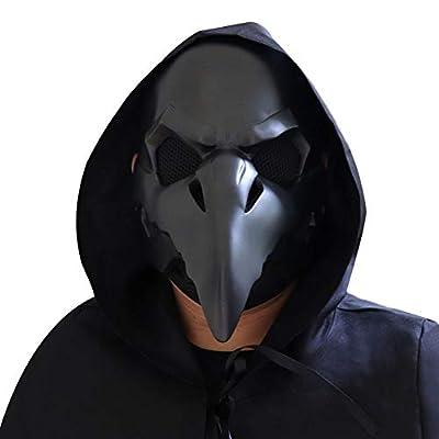 NewPinky Punk Retro Plague Doctor Plague Crow Beak Halloween Masks: Home & Kitchen