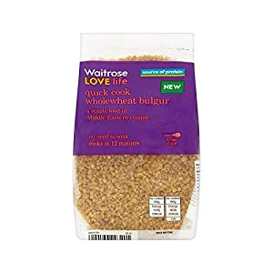 Wholewheat Bulgar Waitrose Love Life 250g - Pack of 2