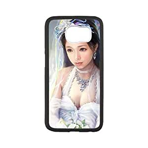 bride painting Samsung Galaxy S6 Cell Phone Case Black Tribute gift PXR006-7593836
