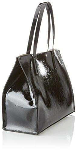 5x33x41 Bags W H L x Guess portés femme Noir Hobo épaule cm 17 Black Sacs qw1zpUwd
