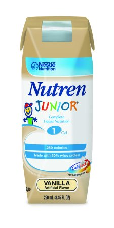 (Sammons Preston Pediatric Oral Supplement / Tube Feeding Formula Nutren Junior Vanilla 250 mL)