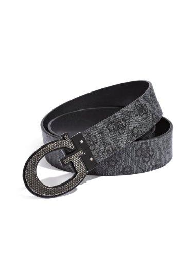 Guess Buckle Closure Belt - GUESS Men's Reversible G Logo Buckle Belt