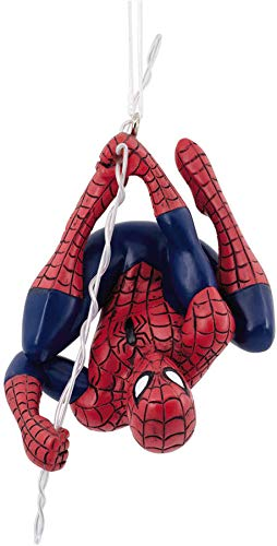 Marvel Spider Man Christmas Tree Ornament Spiderman Hanging Upside -