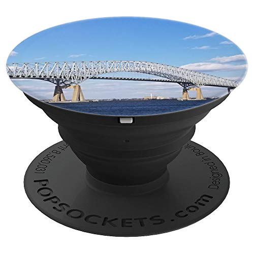 Francis Scott Key Bridge Baltimore, Maryland - PopSockets Grip and Stand for Phones and Tablets