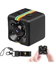 Hankermall SQ11 Mini Spy Camera Secret Camera 1080P Spy Camera met IR Night Vision Bewegingsdetectie Kleine Surveillance Camera voor thuis
