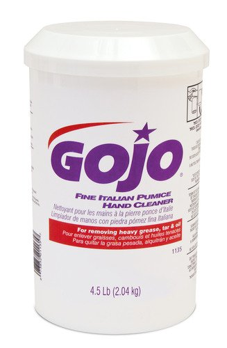 Gojo 1135-06 Fine Italian Pumice Hand Cleaner - 4.5 lb., (Pack of 6) by Gojo (Image #1)