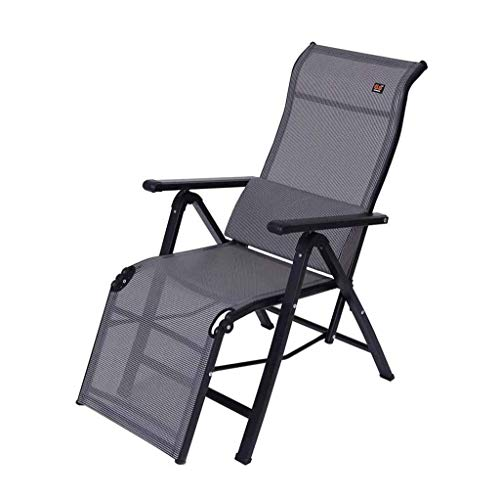 - HYZDY Folding Reclining Bed Multi Position Reclining Relaxer Chair with Headrest Suitable for Beach Lawn Lounge