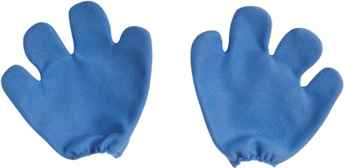 [The Smurfs Mittens Adult, One-Size, Blue] (Smurf Costume 2 Year Old)