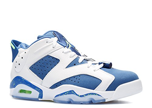 NIKE Air Jordan 6 Retro Low 'Seahawks' - 304401-106