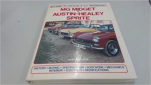 MG MIDGET RESTORATION MANUAL BOOK RESTORING SHOP SPRITE HEALEY REPAIR SERVICE