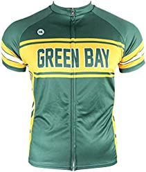 d86c93537 Hill Killer Green Bay Retro-Style Cycling Jersey