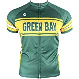 Hill Killer Green Bay Retro-Style Cycling Jersey